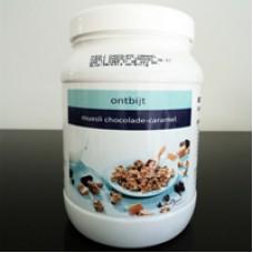 Muesli Chocolade-Caramel Pot