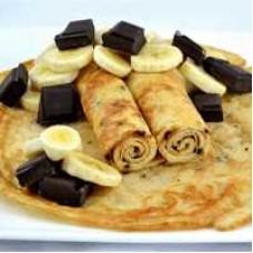 Crepe Banaan Chocolade