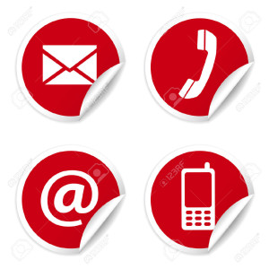 23655965-web-and-internet-contact-us-icons-set-and-design-symbols-on-red-stock-photo